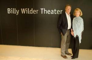 Ron & Nan at Billy WIlder