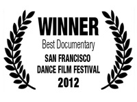 Winner - San Francisco Dance Film Fest